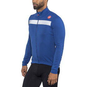 Castelli Puro 3 Full Zip Jersey Men ceramic blue